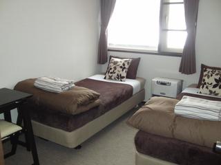 クワッドルーム・4人部屋