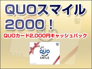 【無料P30台完備!】QUO2,000円プラン☆