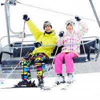 ◎【スキージャム勝山 リフト1日券付】ファミリー応援!スキー用品レンタル割引特典付(1泊2食)