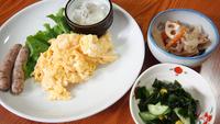 【平日限定】1日の始まりは朝から!朝食付きプランで元気にご出発♪