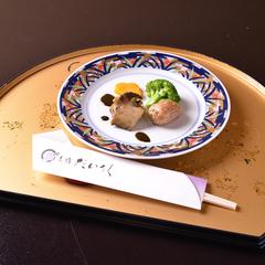 【当館人気No.1】【貸切露天風呂無料】天然温泉と京風会席を愉しむ♪2食付き基本プラン