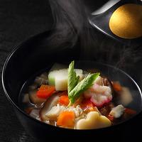 【ふくしまプライド。】一番人気!ワンランク上の会津郷土料理会席<にしんの山椒漬け+こづゆ>