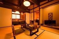禁煙和洋室【露天風呂】+【内湯風呂】付き離れ客室8帖+寝室