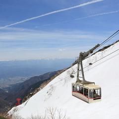 【天空の絶景】駒ヶ岳ロープウェイチケット付きプラン