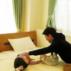 【ドルフィン・DX】☆2LDK・4ベッド☆広々・オーシャンビュー<上層階> 【添い寝無料】