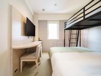 ■禁煙■【部屋タイプ宿任せ】ツインベッドルーム連泊