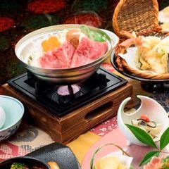 《12月〜2月》旨味が詰まったほかほか鍋プラン!すき焼き・豆乳・寄せ鍋より選べる♪【平日限定】
