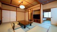 NEW!【禁煙/本館和室】バスなし・トイレ付(12畳+寝室)