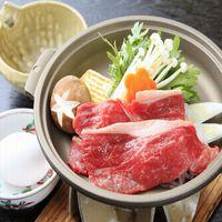 """【お肉好きな方へ】ご夕食のメインは人気の""""牛すき焼き""""をご用意♪"""
