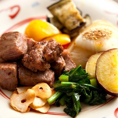 【期間限定】朝夕お部屋食◆カジュアル鉄板焼きセット