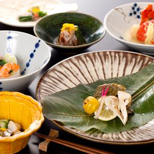 【和懐石久住コース】料理長オススメの和懐石(お部屋食)