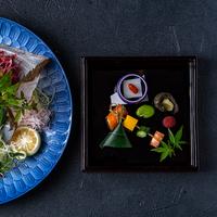 【4月〜7月 旬の食材を味わう】城下カレイ懐石コース(お部屋食)