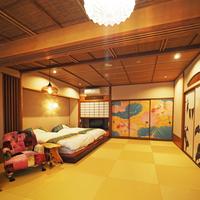 特別室『金澤ノスタルヂヰ』18畳 セミダブルツイン