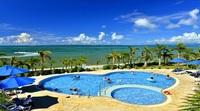 【楽天スーパーSALE】32%OFF  南国の青い海と離島を臨むリゾートホテル バイキング朝食付