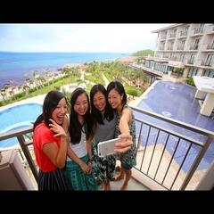 """【3連泊リゾートステイ】ホテル内カフェ&バーにて""""沖縄ぜんざいサンデー""""を召し上がれ♪"""