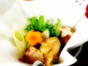 【人気№1★料理長おすすめ】コラーゲンたっぷり【美肌水炊き会席】