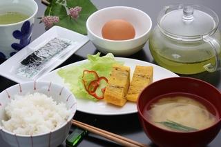 朝からきちんとエネルギーチャージ★朝食付プランB★ 【ご飯、お味噌汁おかわり自由!】