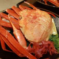 【4日前まで予約限定】富山湾のボイル紅ズワイ蟹1杯+旬会席プラン 〜お一人様まるまる1杯召し上がれ