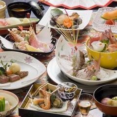 【お料理 松】とやま季節の味覚を愉しむ☆当日の豪華献立は調理長におまかせ!