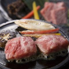 牛ヒレ石焼付プラン◇ジュワァッとお口にひろがる旨味が人気!富山の旬会席を堪能。