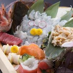 刺盛&白えびかき揚げ付プラン◇どっちも外せません♪ 新鮮富山の白海老かき揚げ!+お刺身盛合せ
