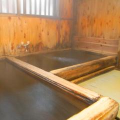 檜風呂洗い場は畳ずっと入っていたいと言う遠赤外線とマイナスイオンの湯冬は服きてからぽかぽかしてくる