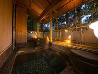 露天風呂付客室(14畳+6畳/5,6階)天然温泉源泉かけ流し