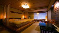 ■和室ツイン客室(10畳/3階)■〜小上がりベットタイプ〜