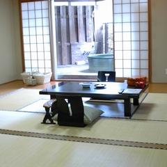 露天風呂付客室【桔梗(ききょう)】