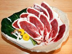 紀州は有田の鴨でおもてなし・・・新鮮でおいしいです。