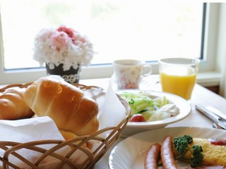 【朝食付】焼き立てパンが人気!ペットと一緒1泊朝食プラン