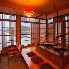 【松阪牛ステーキ会席】伊勢海老・鮑造り付き舟盛も♪味覚の旅♪