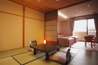 【和洋室◆龍宮殿 新館】和室8畳+ツイン バストイレ付