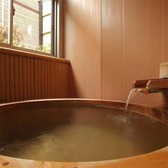 【温泉露天風呂付◆湯の華の郷】8畳ツイン和洋室+小露天付