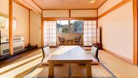 《庭園側》和室10畳/Wi-Fi無料
