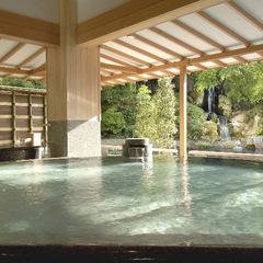 ご家族・お友達と温泉旅行!16趣湯巡りとバーデンプールでエンジョイ