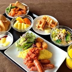 【朝食付き】ホテルmade和洋バイキング付きプラン♪
