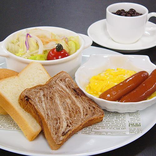 【軽朝食付☆平日限定】忙しい朝でも、栄養チャージ!<パン&サラダ>のお手軽洋食プレート