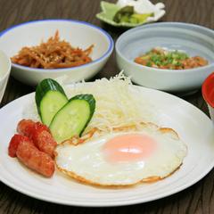 【☆朝食付き☆】栄養満点!貴方ならどれを選ぶ?選べる5種類の健康朝食!早朝5時からOK!
