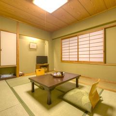 和室6畳(山側)◇客室バスは源泉供給
