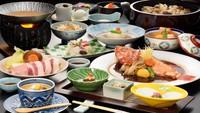 【春夏旅セール】会場食【夕食選べる】『鯛鍋+前沢牛』『白金豚+吉次の煮付』『白金豚+吉次の姿焼き』