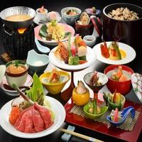 部屋食【4月1日〜8月31日Happy Price Plan☆】旬の一品&前沢牛&鮑&フカヒレ付