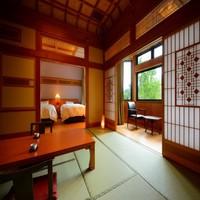 三間【和室10畳+6畳+ツインベッドルーム】