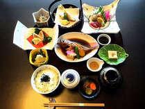 【ちょっぴり贅沢♪2食付プラン】当ホテル2階の和食処「だいにんぐまめた」にて旬の味覚を召し上がれ♪