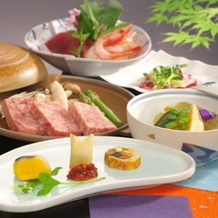 【1泊2食】上州もち豚プラン※基本プラン(朝・夕、お部屋食)