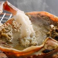 タグ付ブランド松葉蟹2匹使用!カニの最高の食べ方をプロデュース!厳選活蟹フルコース 露天風呂付き客室
