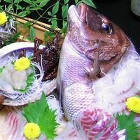 【土鍋で炊く鯛めし!】【鯛・サザエ・イセエビの船盛】伊勢志摩ブランド食べづくしプラン
