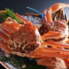【活蟹】極上味覚・津居山蟹コース◆1kg超えの津居山蟹と但馬牛ヒレを贅沢に味わう