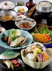 ◆伊根湾直送☆岩ガキを堪能!栄養チャージ!海のミルク岩牡蠣で夏バテ防止×自家堀天然温泉