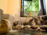 【仙景】〜池泉亭〜源泉かけ流し半露天岩風呂付き客室/角部屋